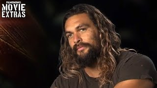 "Justice League | On-set visit with Jason Momoa ""Arthur Curry / Aquaman"""