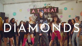 Megan Thee Stallion & Normani (Birds of Prey: The Album) - Diamonds - Choreography by Samantha Long