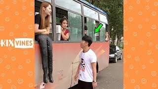 Funny videos 2018 ✦ Funny pranks try not to laugh challenge P48 - YouTube