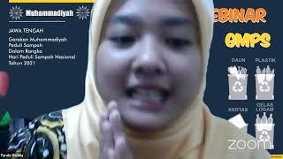 Webinar Gerakan Muhammadiyah Peduli Sampah