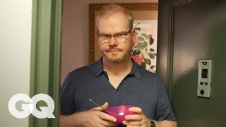 Comedian Jim Gaffigan teaches Jason Nash How to Be a Boss - GQ's How to Be a Man