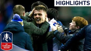 Will Grigg is on Fire!! | Wigan 1-0 Man City | 10-man City Knocked Out! | Emirates FA Cup 2017/18