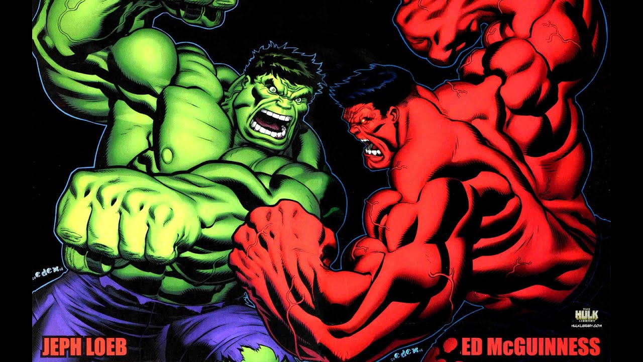 The hulk vs red hulk vs grey hulk youtube - Pictures of red hulk ...
