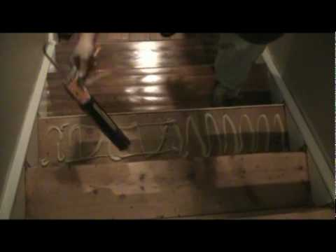 Installing Prefinished Stair Treads Youtube