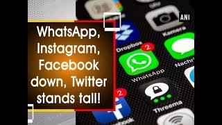 WhatsApp, Instagram, Facebook down, Twitter stands tall!