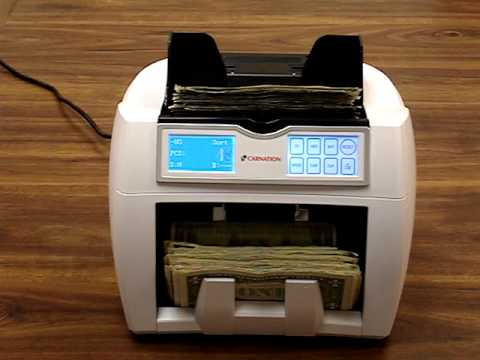 CR2 Money Counter UV MG IR Counterfeit Detection