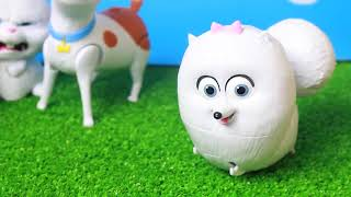 Toy Review Secret Life Of Pets Snowball Gidget Max Toys