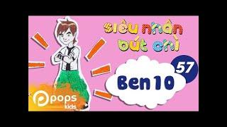 Hướng Dẫn Vẽ Ben Tennyson 10 - Siêu Nhân Bút Chì- Tập 57 - How to draw Ben (From Ben 10)