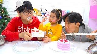 보람이와 코난 또치의 복불복 챌린지 장난감 놀이 Boram REAL FOOD CHALLENGE