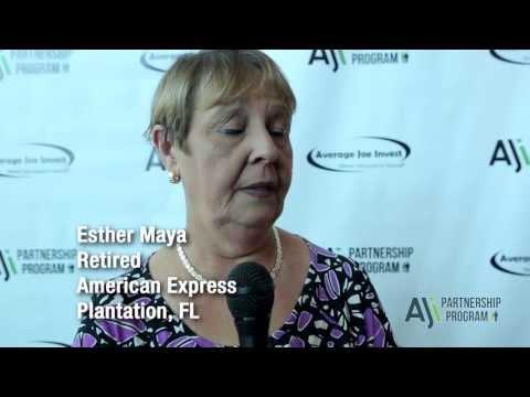 Average Joe Invest Testimonial - Esther Maya