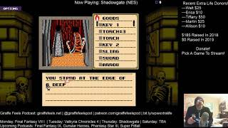 Giraffe Feels Podcast Stream #141: Shadowgate Part Two