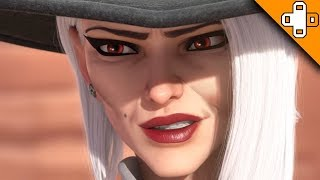 Ashe is an OLD LADY Now! Overwatch Funny & Epic Moments 668