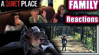 A Quiet Place   FAMILY Reactions   Fair Use
