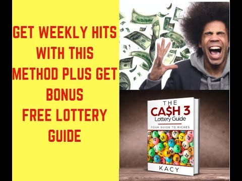 GET YOUR CASH 3 PREDICTIONS TODAY WITH MY SECRET PICK 3 LOTTERY STRATEGIES FOR HITS