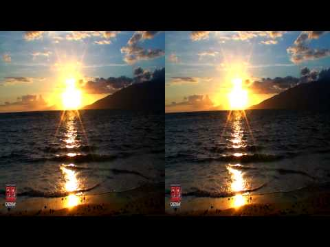 3D Video Sunset Hawaii FREE 3D Video Everyday N°44