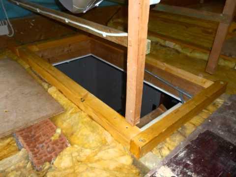 dach dachboden d mmen selber machen anleitung diy youtube. Black Bedroom Furniture Sets. Home Design Ideas