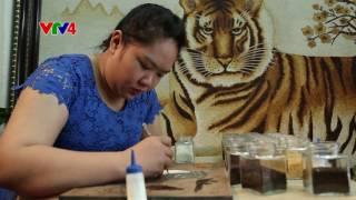Nghệ thuật vẽ tranh bằng gạo