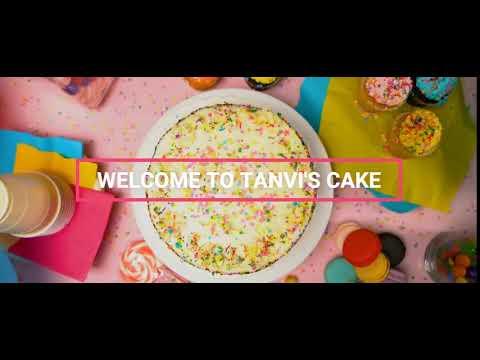 Making delicious cake   Tanvi's Cake Shop.