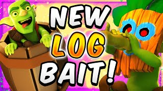 MORE OFFENSE THAN EVER! BEST LOG BAIT in CLASH ROYALE!