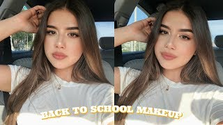 DRUGSTORE Back to School Makeup Tutorial | Quick & Easy!