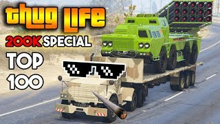 GTA 5 ONLINE : TOP 100 THUG LIFE AND FUNNY MOMENTS  [200K SPECIAL]