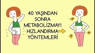 40 Yaş Sonrası Metabolizmayı Hızlandırma Yöntemleri