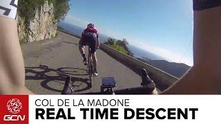Bikers Rio Pardo | Vídeos | Descida em tempo real do Col de la Madone