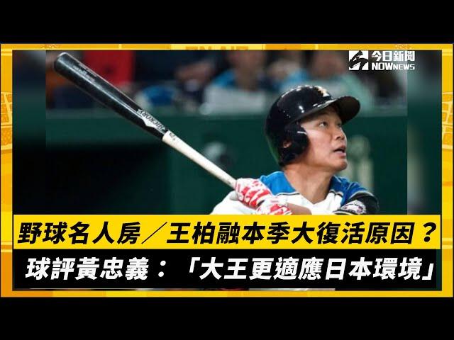 野球名人房/黃忠義分析王柏融復活