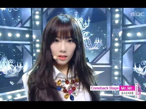 Girls' Generation - Mr. Mr., 소녀시대 - 미스터 미스터, Music Core 20140308