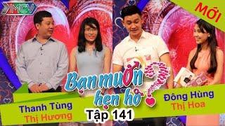 WANNA DATE - Ep. 141 | Thanh Tùng - Thị Hương | Đông Hùng - Thị Hoa | 14-Feb-16