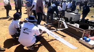 #AeroIndia2019 : First time in the history of India, Drone Olympics are held at Aeroindia 2019.