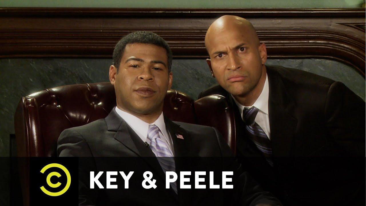 key and peele meet luther