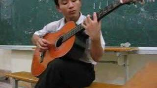 Chao em co gai Lam Hong by guitar