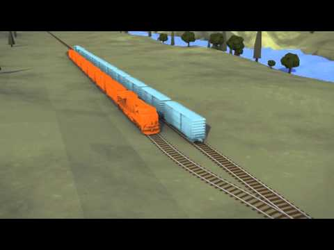 Sidings make rail networks operate more efficiently