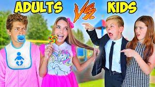 KIDS Turn Into ADULTS & ADULTS Turn Into KIDS! (bad idea)