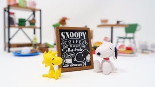 Snoopy's Vintage Cafe serving up fresh brewed coffee!