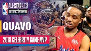 Quavo's MVP Performance In The 2018 Celebrity All-Star Game   Presented by Ruffles