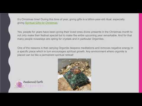 Give the Gift of Orgonites this Christmas!