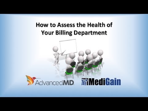 Medical Billing - How to Assess the Health of Your Medical Billing Department
