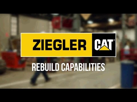 Ziegler CAT Rebuild Capabilities