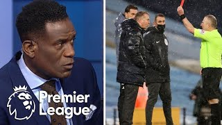 Dean Smith slams offside no-call: 'Pathetic law, pathetic decision' | Premier League | NBC Sports