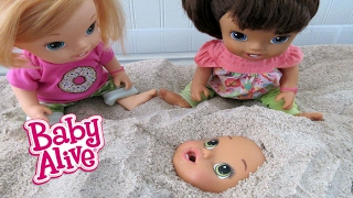 BABY ALIVE Babies Play In Sandbox!