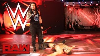 Roman Reigns and Rusev agree to meet inside Hell in a Cell: Raw, Oct. 3, 2016