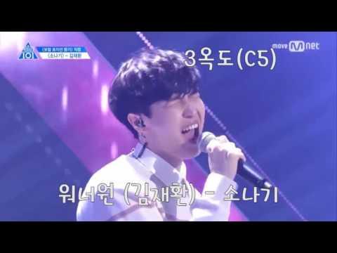 한국 보이그룹 진성고음 옥타브 모음 영상  (K-POP Boy Group High notes and Octave)