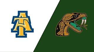 2019 MEAC Football: North Carolina A&T vs  Florida A&M