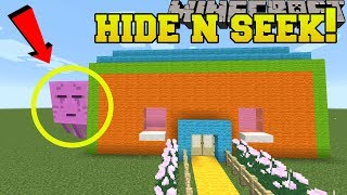 Minecraft: GHASTS HIDE AND SEEK!! - Morph Hide And Seek - Modded Mini-Game