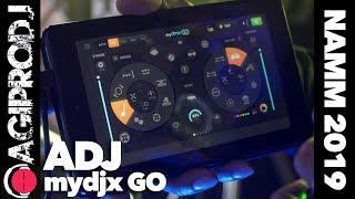 AMERICAN DJ MyDMX GO Control System in action
