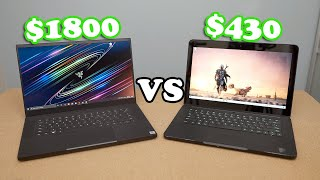 NEW Razer Blade 15 vs The Cheapest Razer Blade You Can Buy
