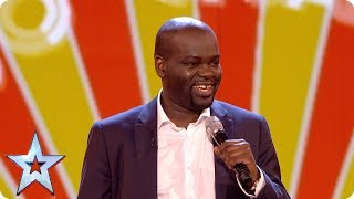 Daliso Chaponda gives us the Grand Final giggles   Grand Final   Britain's Got Talent 2017