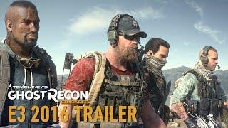 Tom Clancy's Ghost Recon Wildlands - E3 2016 Cartel Cinematic Trailer